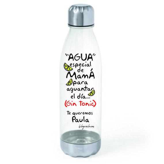 """Bidón """"Agua especial de Mamá"""""""