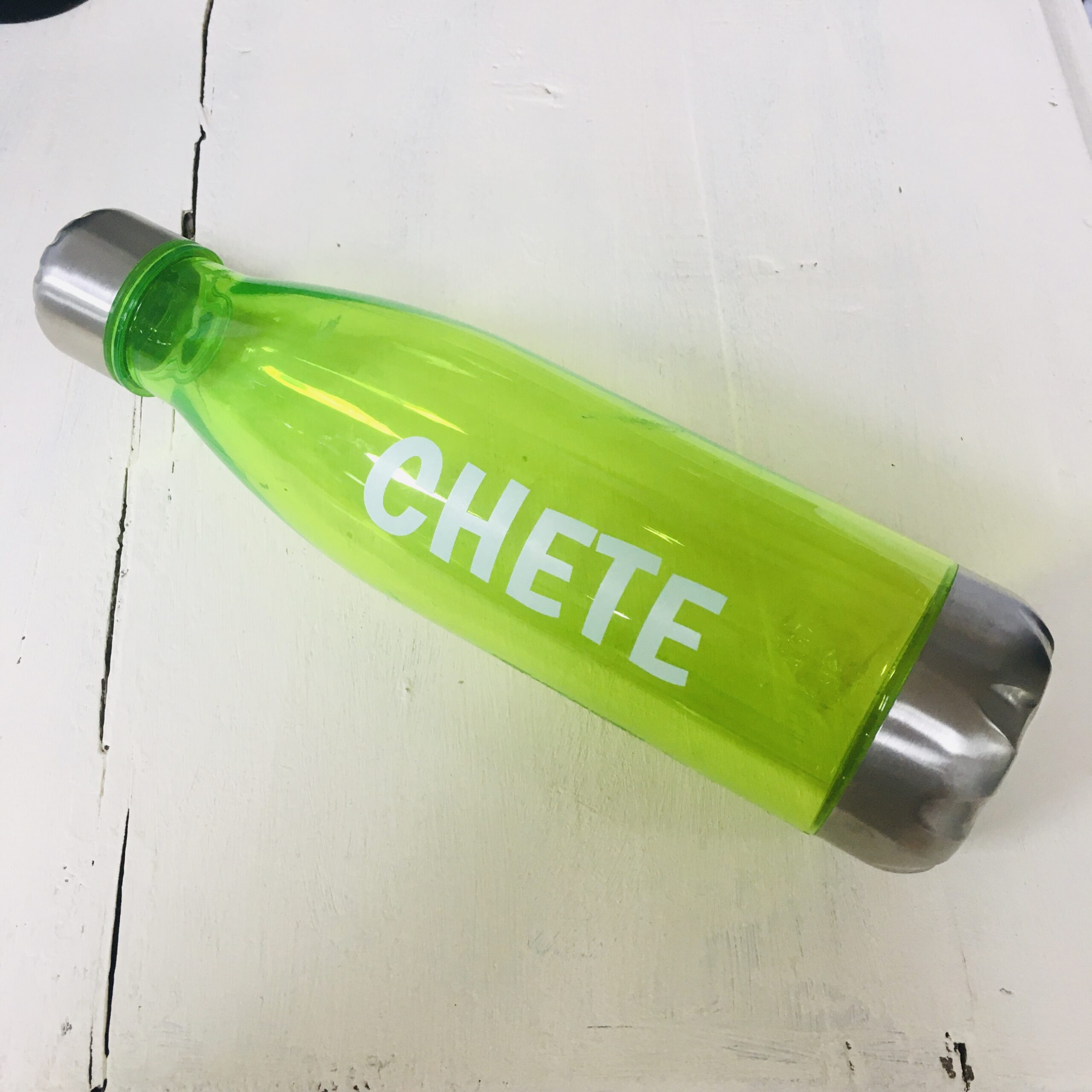 bidón plástico verde