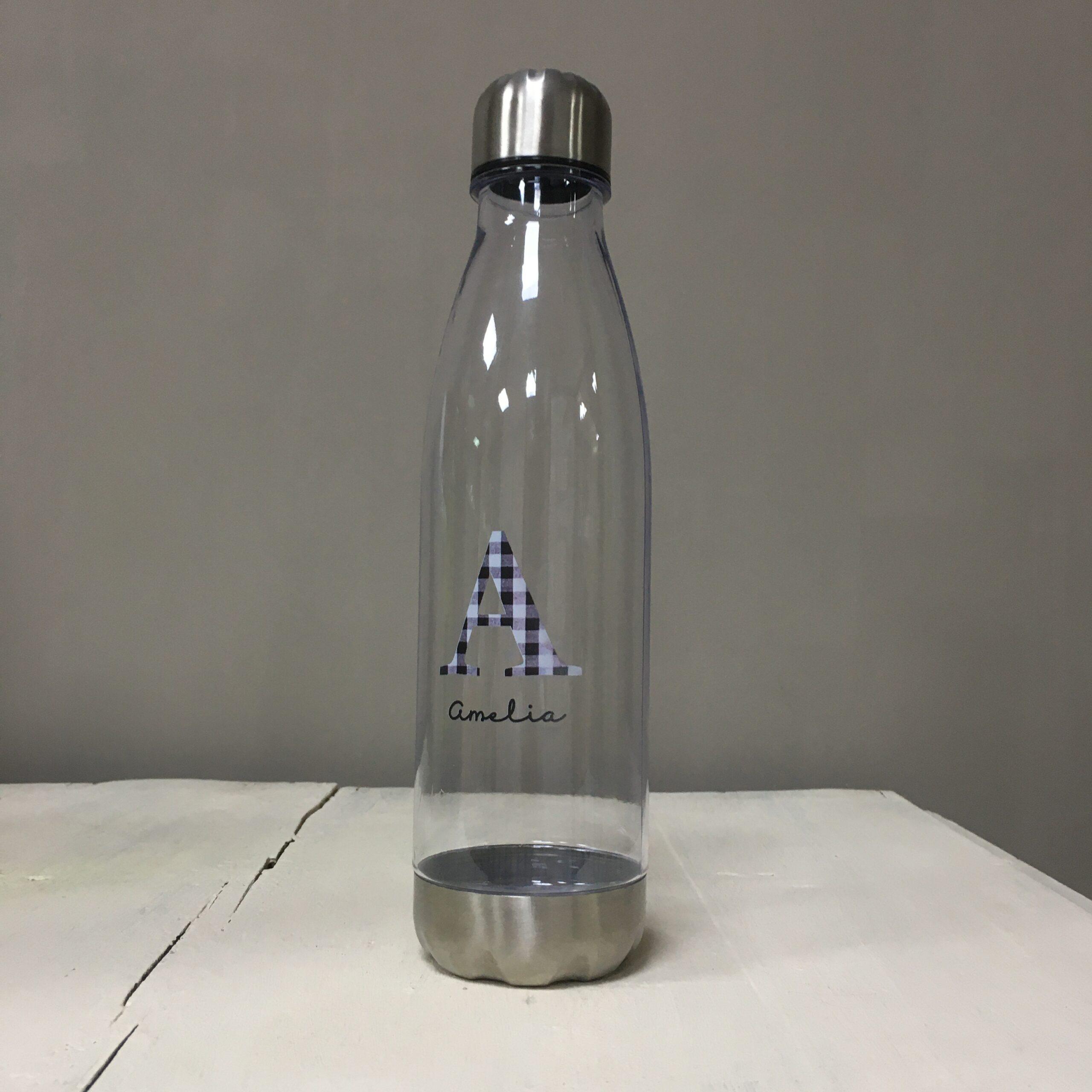 bidón plástico transparente